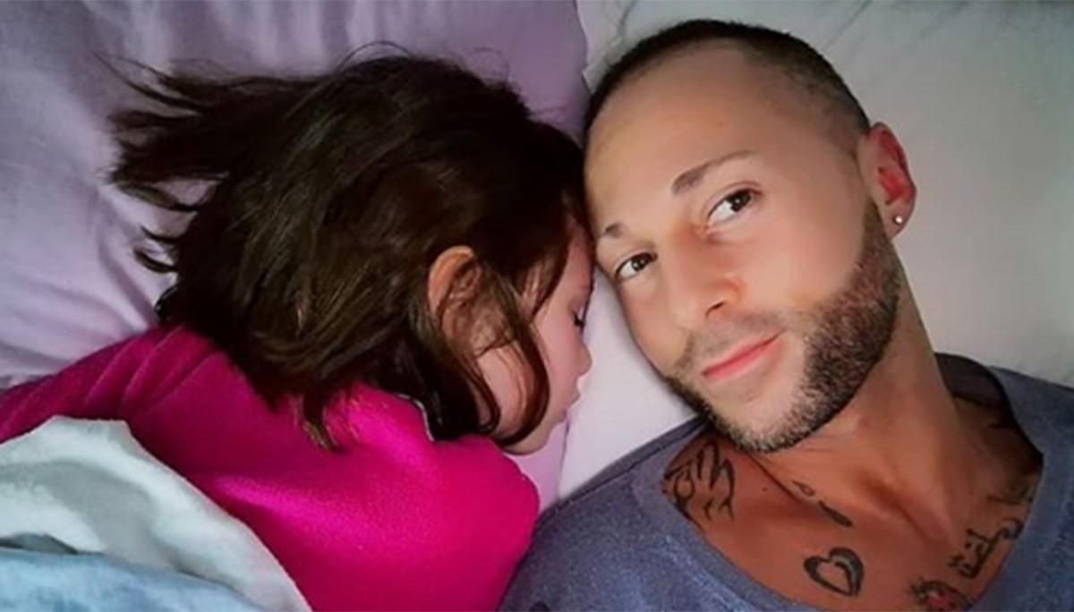 Ivan Cottini e la figlia Viola