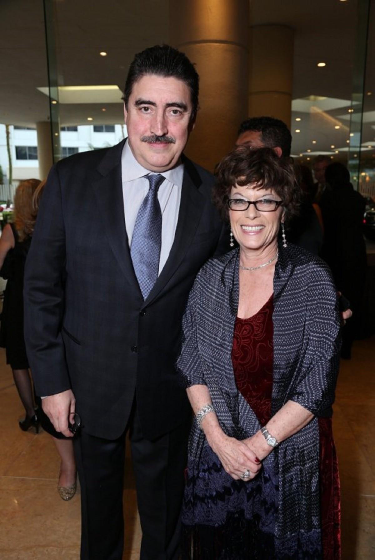 Jill Gascoine e Alfred Molina