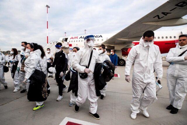 albanesi medici team multati