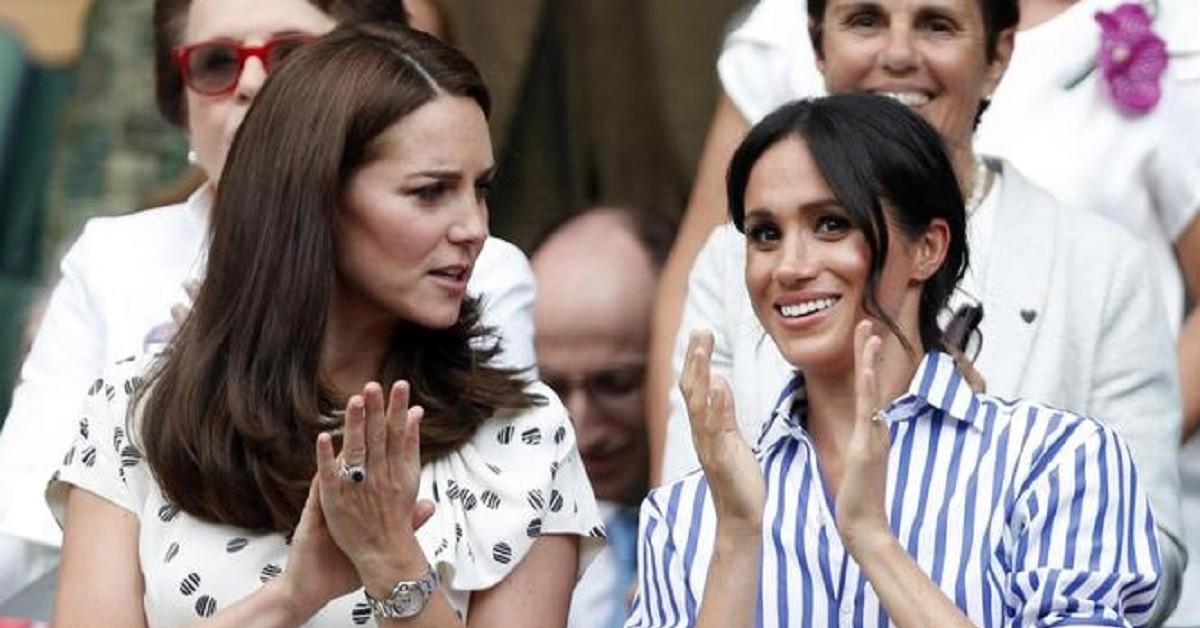 Meghan Markle e Kate Middleton foto