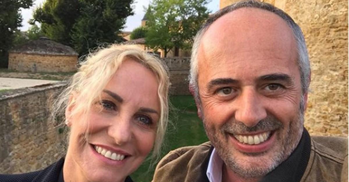 Antonella Clerici e Vittorio Garrone insieme