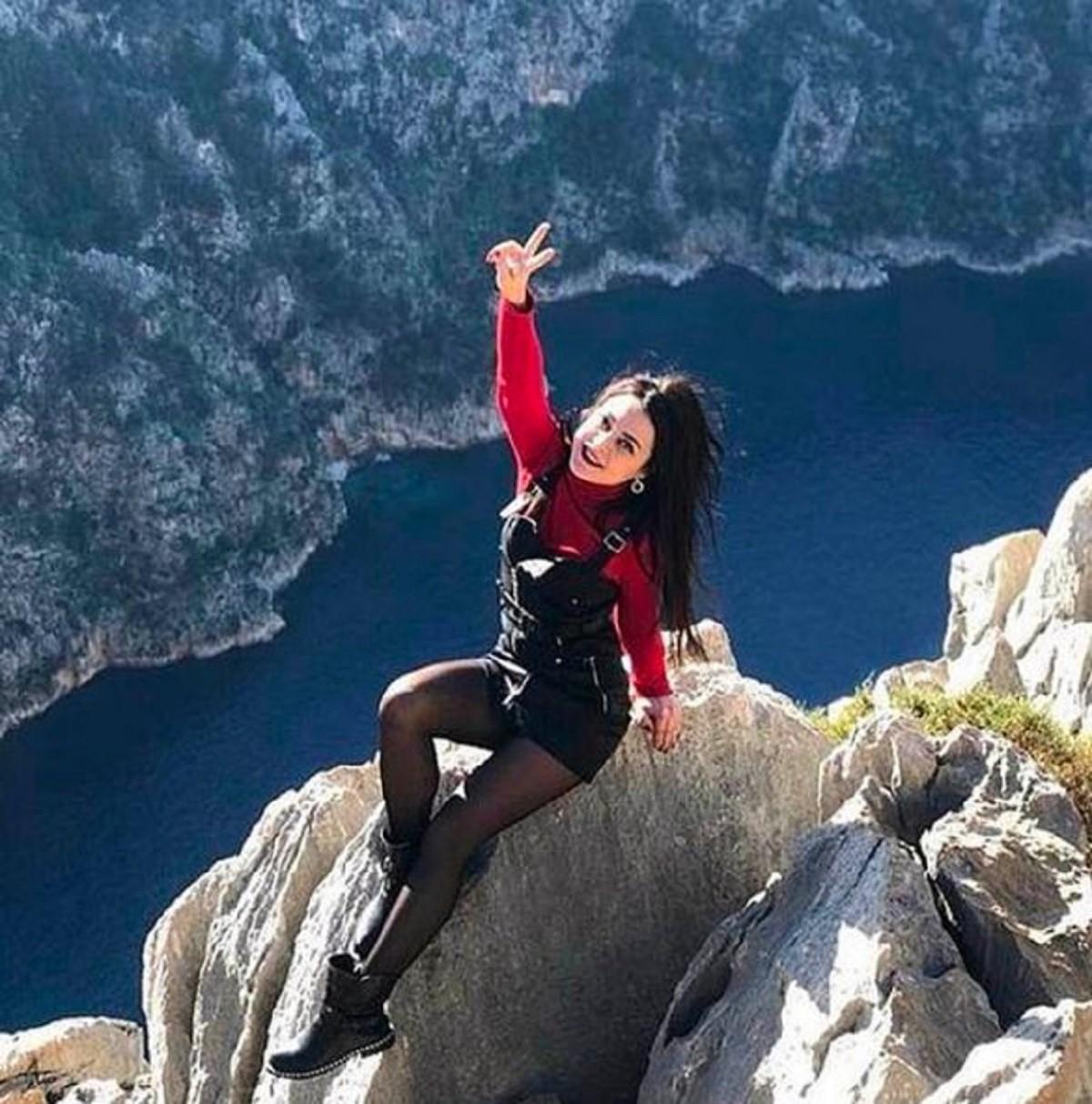 Olesya Suspitsyna selfie