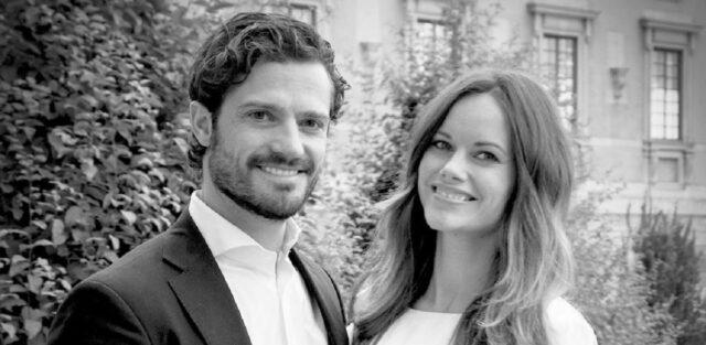 Principessa Sofia e principe Carl Philip foto