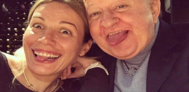 Irene Fornaciari e Massimo Boldi - Foto Instagram