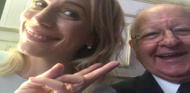 Irene Fornaciari e Massimo Boldi Instagram