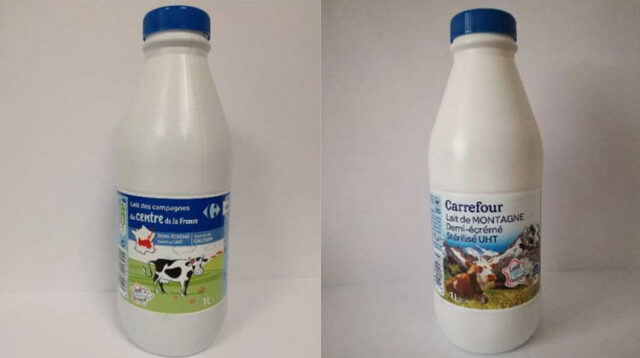 Carrefour richiama latte