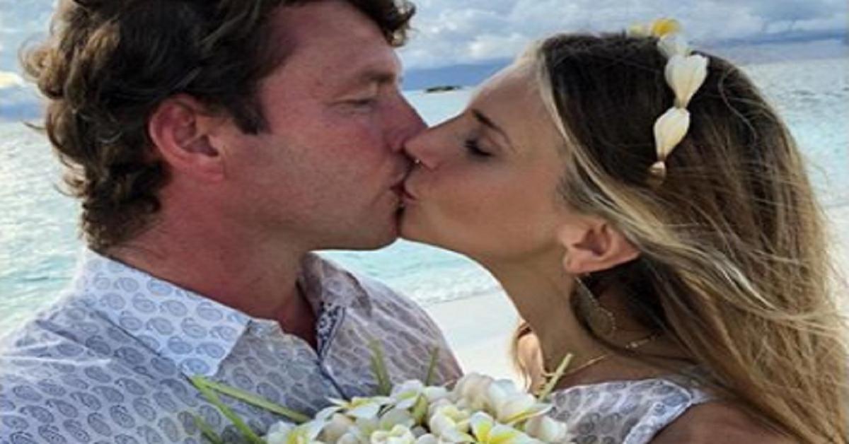 Nicoletta Romanoff e Federico Alverà Nozze bacio