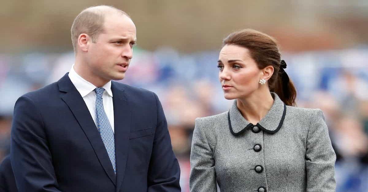 il principe william con kate middleton