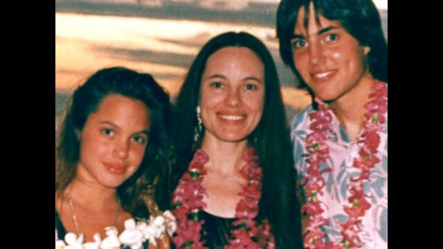 Marcheline Bertrand e Angelina Jolie