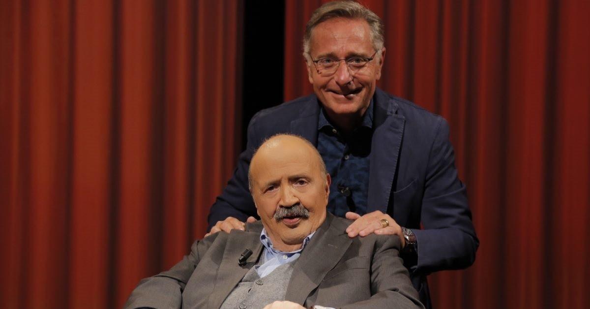 Maurizio Costanzo con Paolo Bonolis