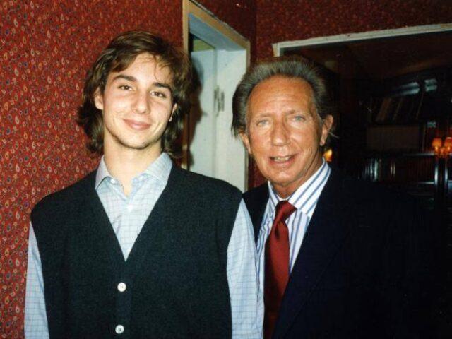 Mike Bongiorno e il figlio