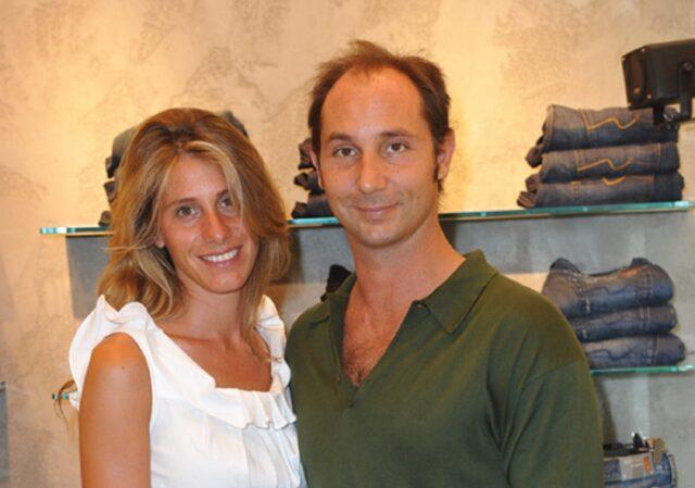 Michele Bongiorno e la moglie