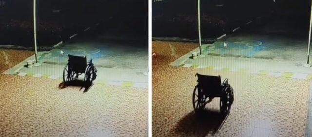 Un fantasma muove la sedia