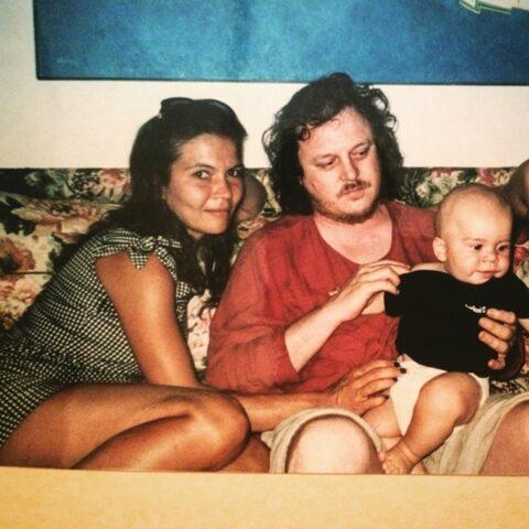 Zucchero, Francesca Mozer e il figlio