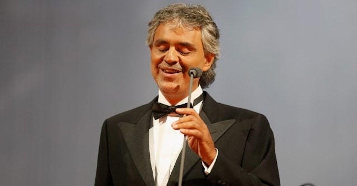 positivo al covid-19 Andrea Bocelli