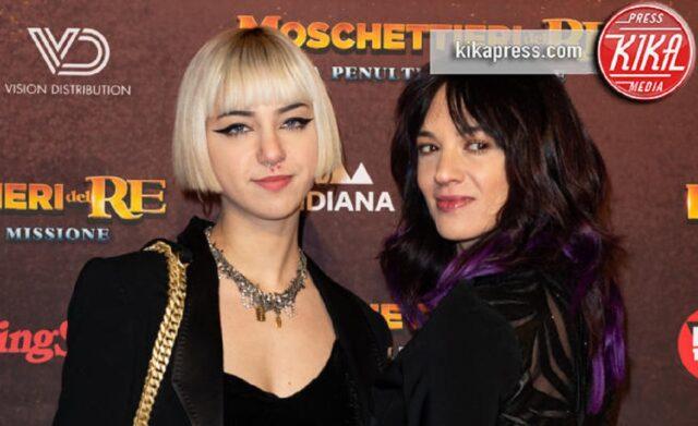 Anna Lou Castoldi con la madre