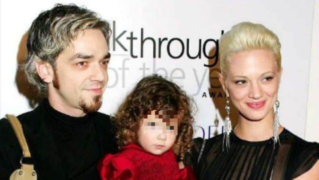 Anna Lou Castoldi e i genitori