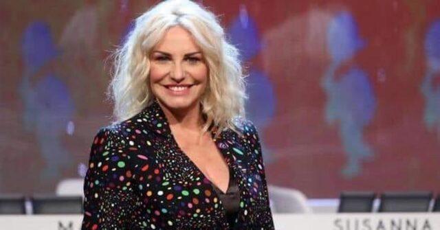 Antonella Clerici sorriso