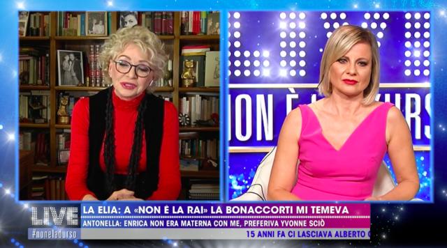 Enrica Bonaccorti Antonella elia