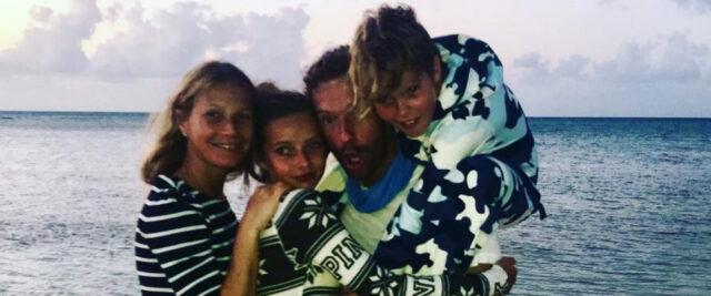 Gwyneth Paltrow, Chris Martin e i figli