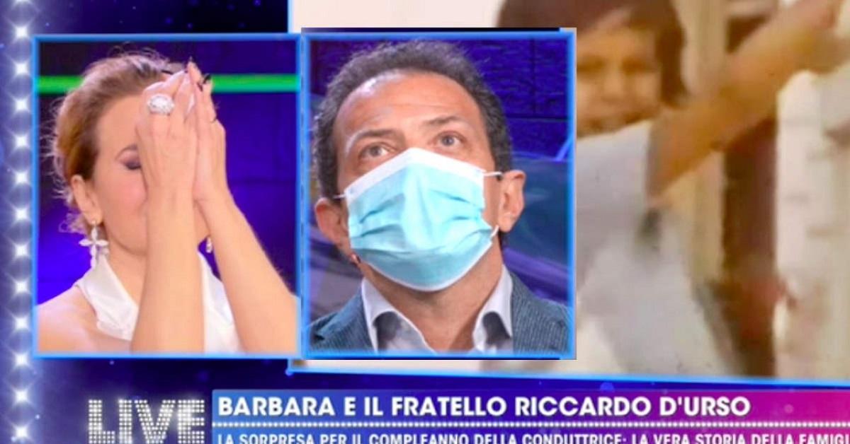Barbara D'Urso e Riccardo D'Urso