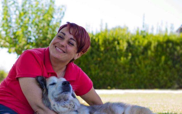 Benedetta Rossi ha portato Nuvola dal Veterinario