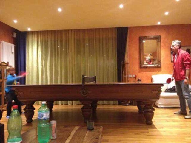 Paolo Bonolis ping pong