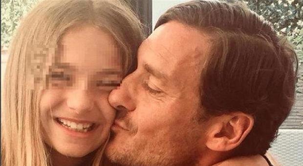 La figlia di Totti, Chanel, compie 13 anni