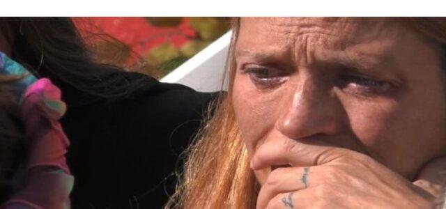 Jane Alexander piange