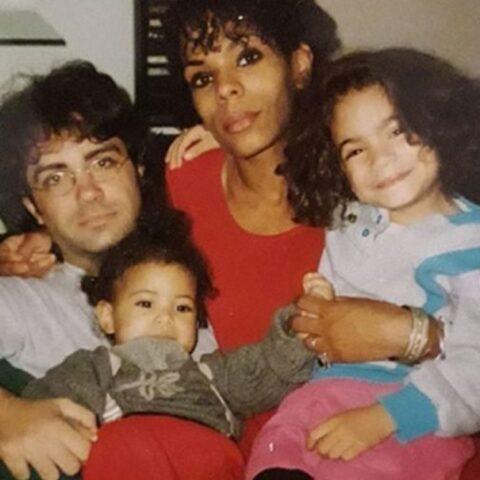 Elodie Di Patrizi e la sua famiglia