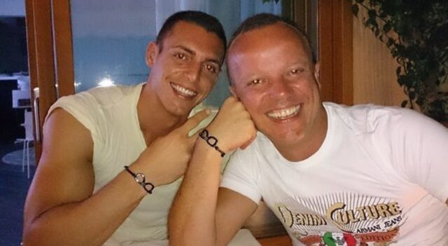 Claudio D'Alessio e il padre