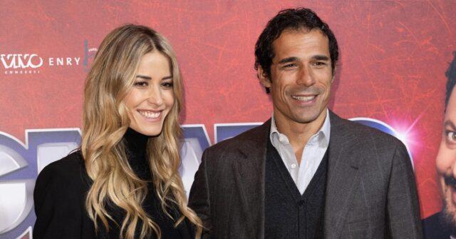 Elena Santarelli e Bernardo Corradi foto