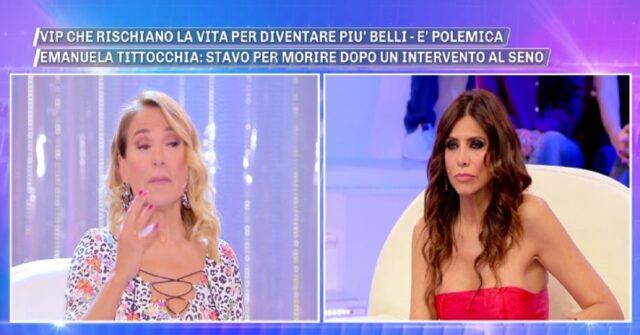 Emanuela contro Valeria