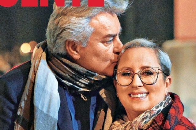 Ernestino Michielotto e la moglie