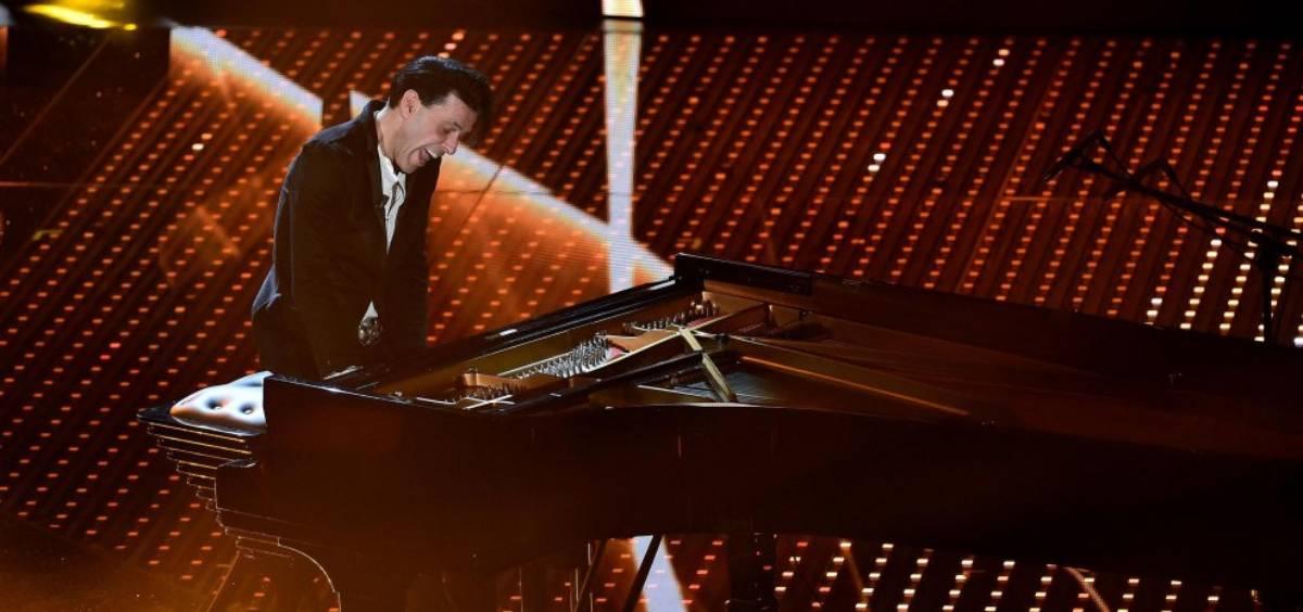 Ezio Bosso pianista