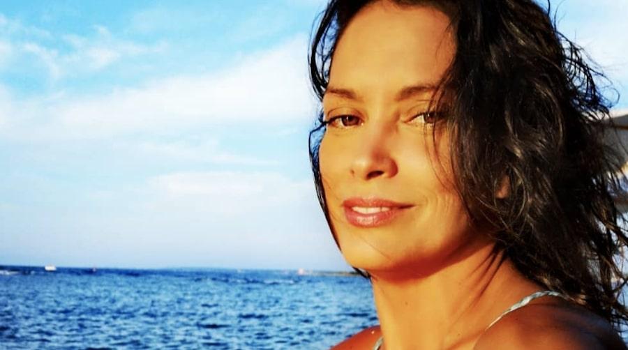 Fernanda Lessa da giovane