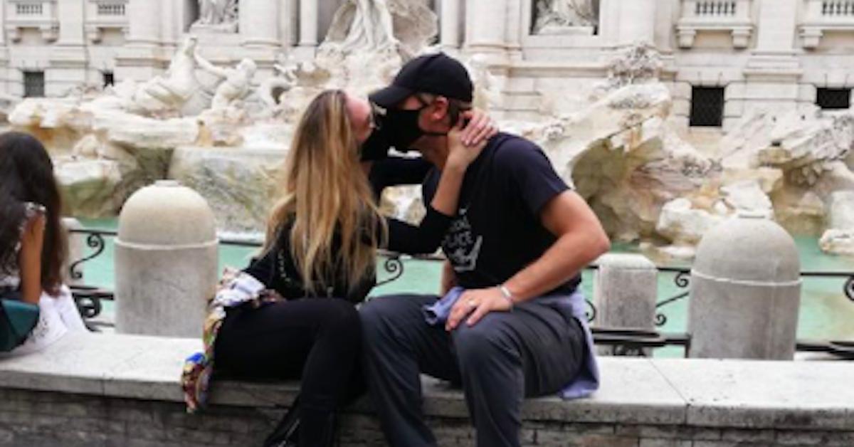 Ilary Blasi e Francesco Totti a Roma