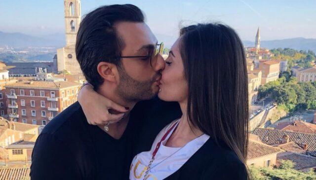 Gabriele Costanzo e la fidanzata