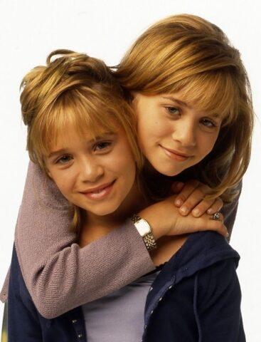 gemelle Olsen piccole