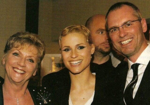 Ineke Hunziker e i figli