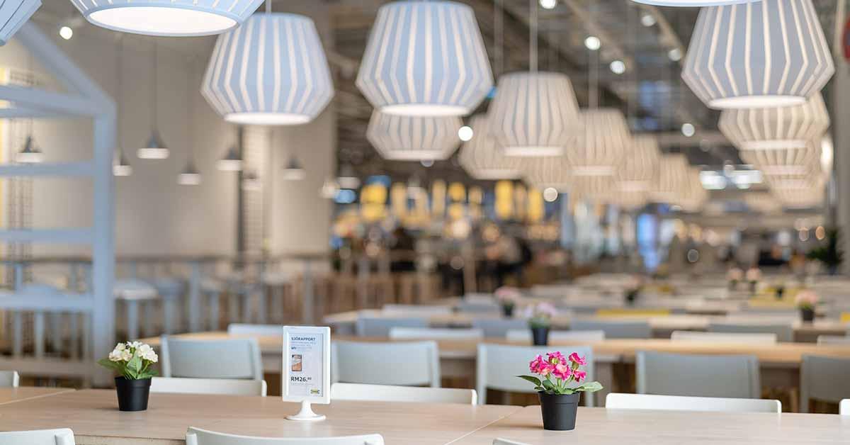 Quando torneremo all'Ikea, la troveremo così
