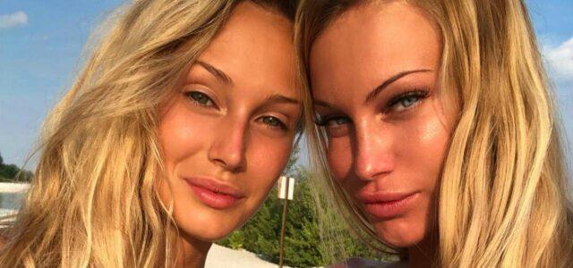 Jade Mega e la sorella