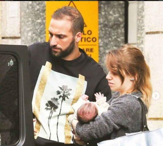 Gonzalo Higuain, la compagna e la figlia