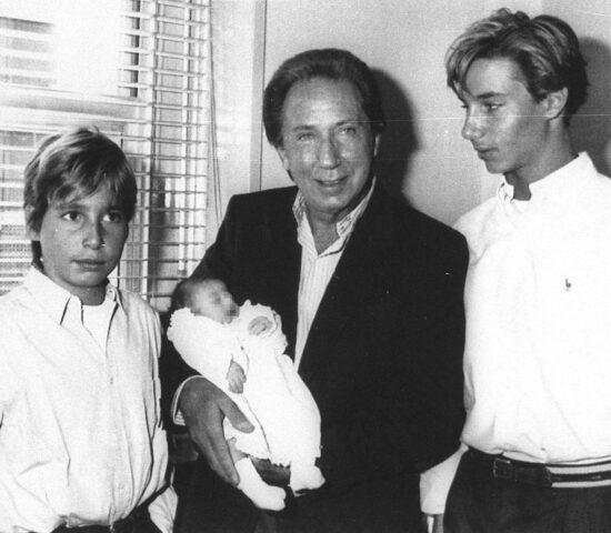 Mike Bongiorno e i figli