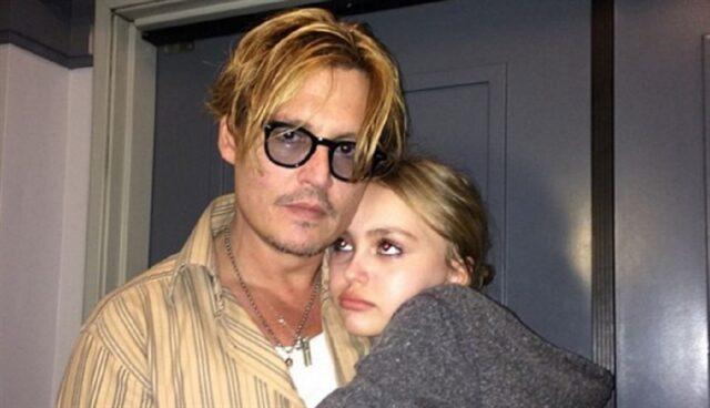 Johnny Depp e la figlia