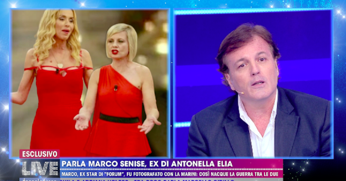 Valeria Marini con Antonella Elia e Marco Senise