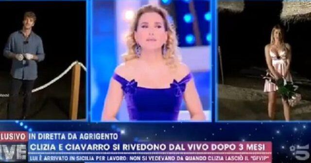 incontro tra Clizia e Paolo Ciavarro
