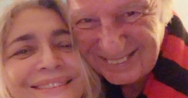 Mara Venier e Nicola Carraro foto di coppia
