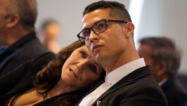 Cristiano Ronaldo e la mamma