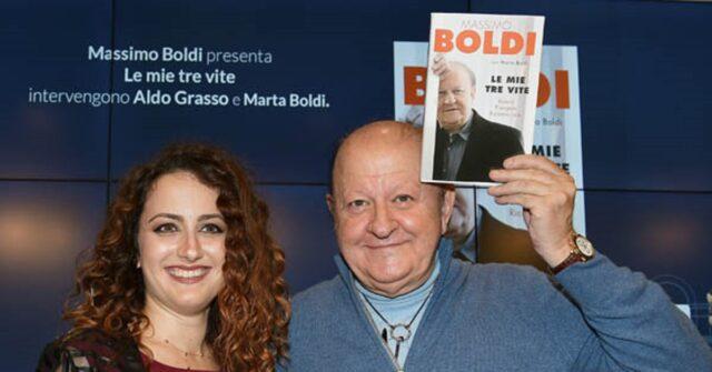 Marta Boldi e il padre
